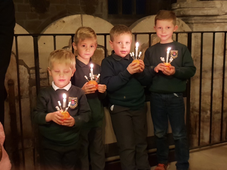 Christingle Service at the Village Church 2018