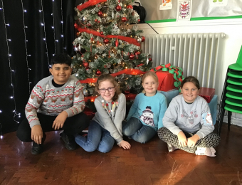 St Giles Hospice Jumper Day