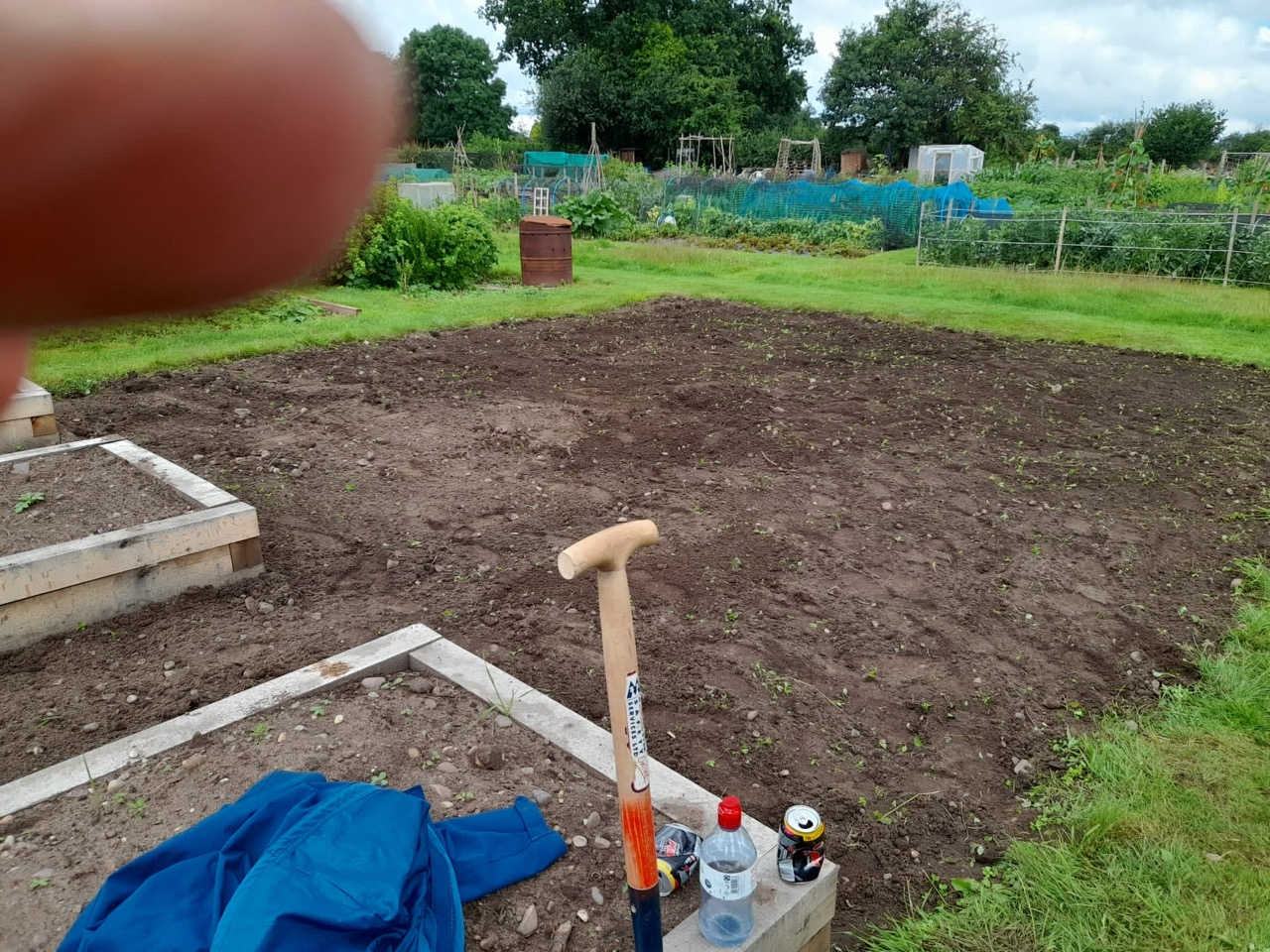 Allotment – 13th July 2021