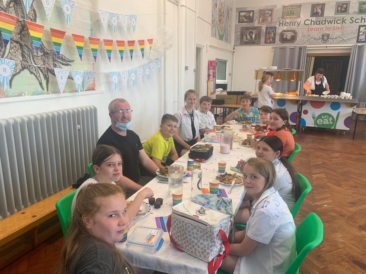 Y6 Leavers' Lunch – 21st July 2021
