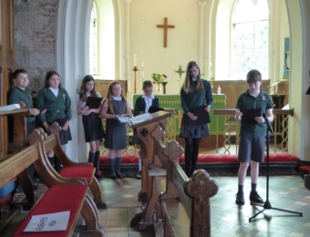 Leavers' Service 2021 at the local village Church