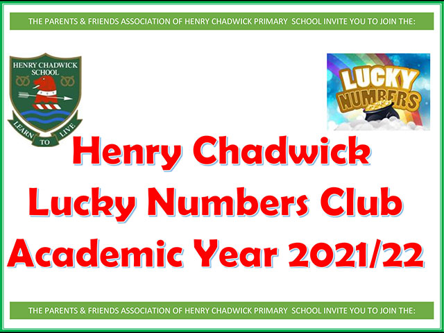 Lucky Numbers Letter 2021
